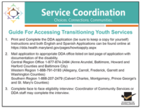 Click to download the Guide For Accessing Transitioning Youth Services