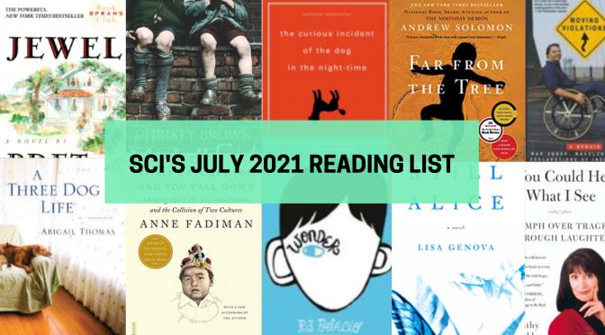 SCI's July Reading List